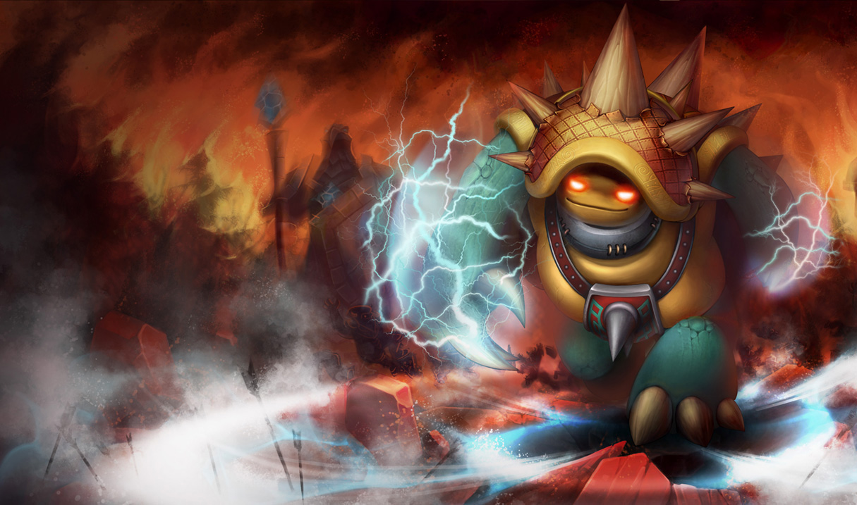 LoL Rammus Wallpapers (Chinese + American) | NERFPLZ LOL