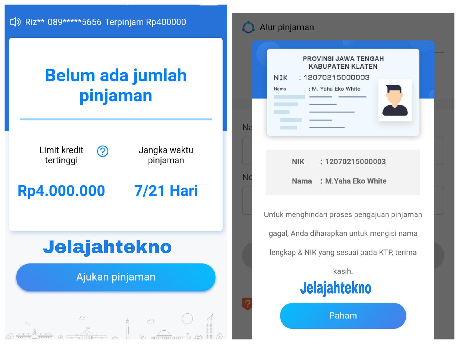 Cara Dapat Pinjaman Online Dan Uang 150 Ribu Dari Danarupiah