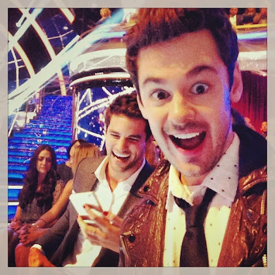 Brendan Robinson and Brant Daugherty DWTS