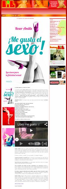 revista LIB   A Roser Amills le gusta el sexo