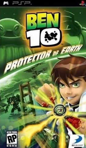 Game Ben 10 Protector Of Earth PSP Cso Iso Ukuran Kecil
