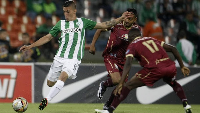 Atletico Nacional vs Deportes Tolima en vivo