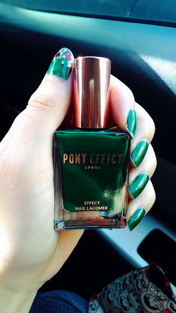 Review; PONY EFFECT's Effect Nail Lacquer # MONEY POWER