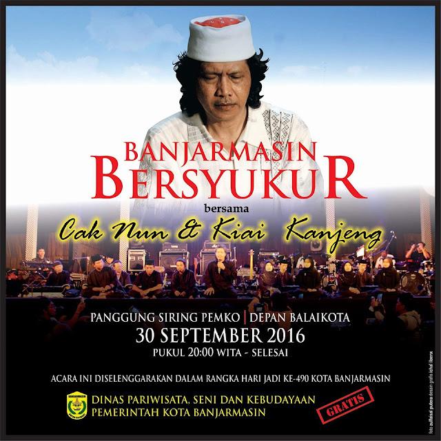 Event Islami Banjarmasin - Cak Nun dan Kyai Kanjeng