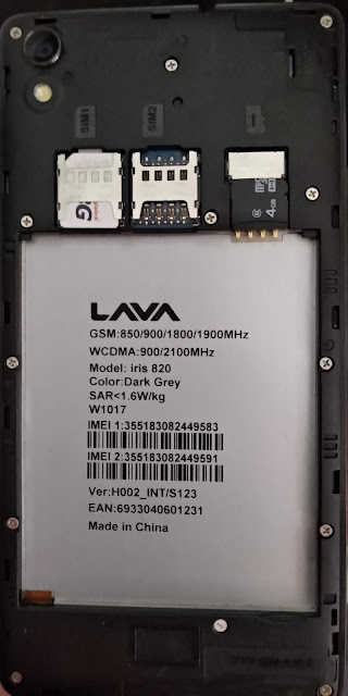 lava Iris 820 flash file s123 Without Password Care sining Dead Hang Logo Lcd Fix -100% test