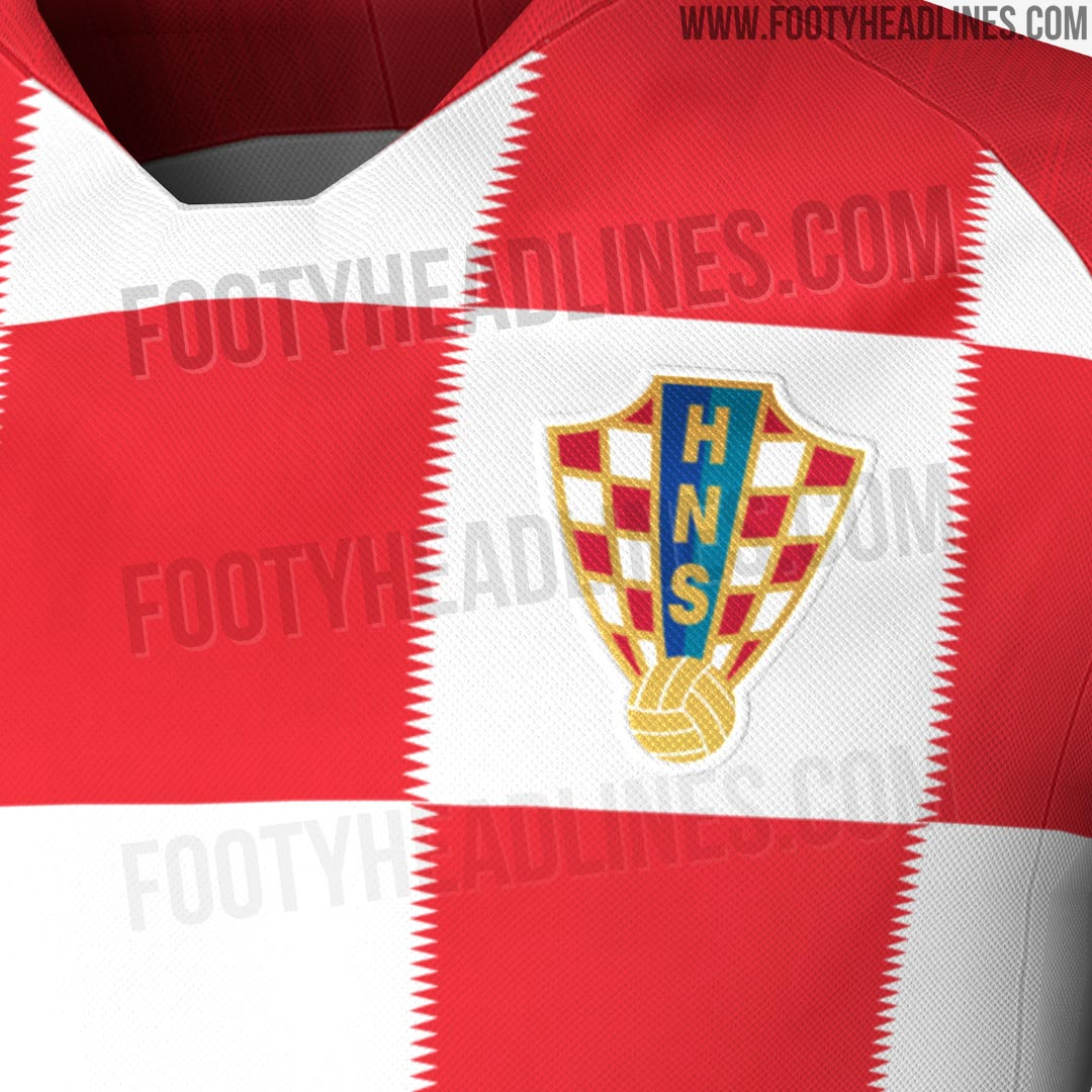 4f9ca7d7d98 White shorts and blue socks will complete the Croatia 2018 World Cup kit.