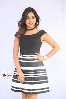 Actress Mi Rathod Pos Black Short Dress at Howrah Bridge Movie Press Meet  0010.JPG