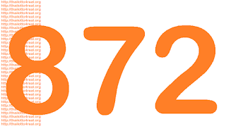 872 Thai lottery favorite number in 4 pc sets