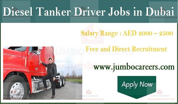 Driver jobs in Gulf countries, Recent job openings in Dubai,