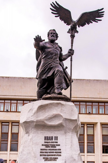 В Калуге открыли первый в России памятник Ивану III