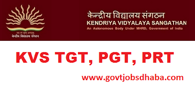 Recruitment of Principal, PGT, TGT and PRT in KVS
