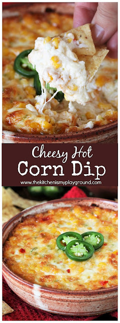 Baked Cheesy Hot Corn Dip Picture