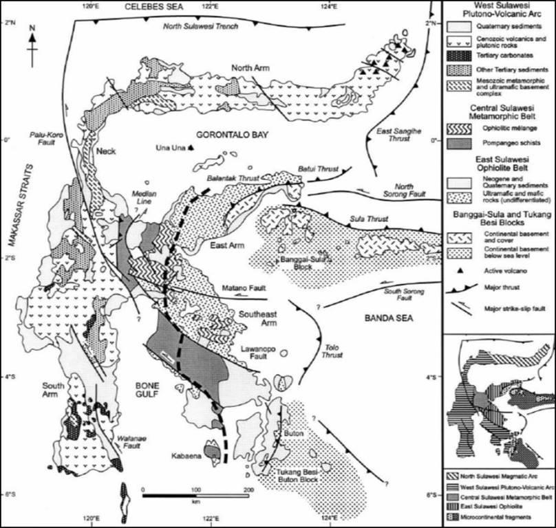 Mengenal Batuan Vulkanik Tersier Sulawesi