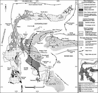 geologi regional sulawesi