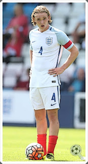 Tom Davies England captain