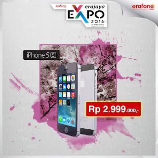 iPhone 5S 16 GB Harga Spesial Rp 2.999.000 di Erafone Erajaya Expo
