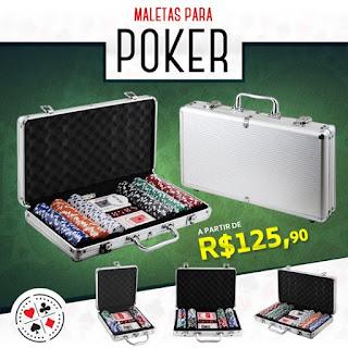 Fichas para jogar poker ou outros jogos