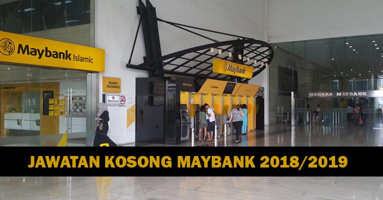 Jawatan Kosong di Malayan Banking Berhad Maybank - Pelbagai Jawatan Dibuka