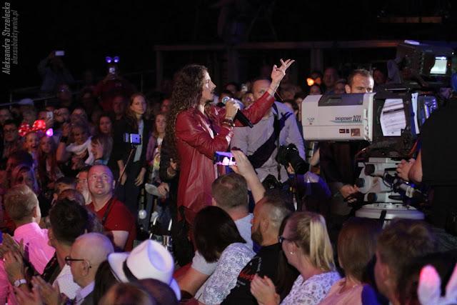 Michał Szpak - Sopot Festival - zszedł do fanów, wśród publiczności