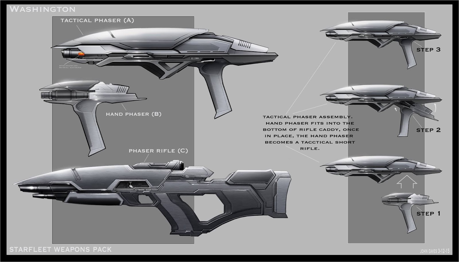 The Trek Collective John Eaves Prop Designs For Star