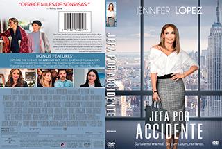 Second Act - Jefa por accidente - Cover - DVD