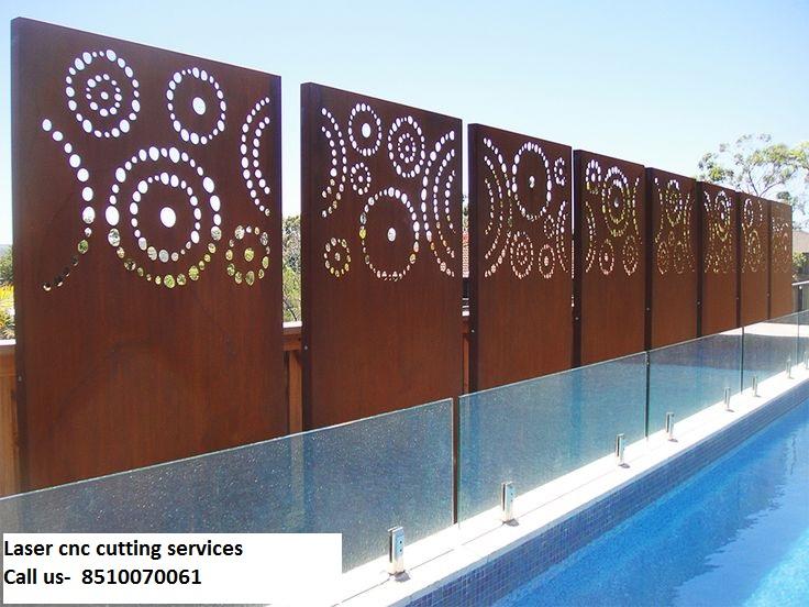 Laser cnc cut services mdf pvc wpc ms ss laser cnc for Ferronnerie jardin decoration