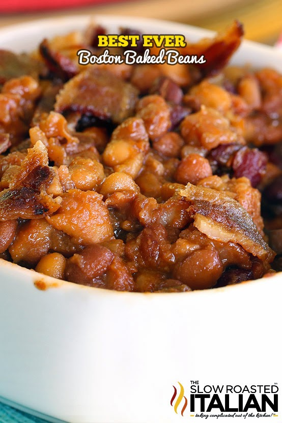Best Ever Boston Baked Beans #TSRISummer #Beans #Recipe