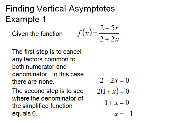 Asymptotes ,rational function,finding vertical asmptotes,