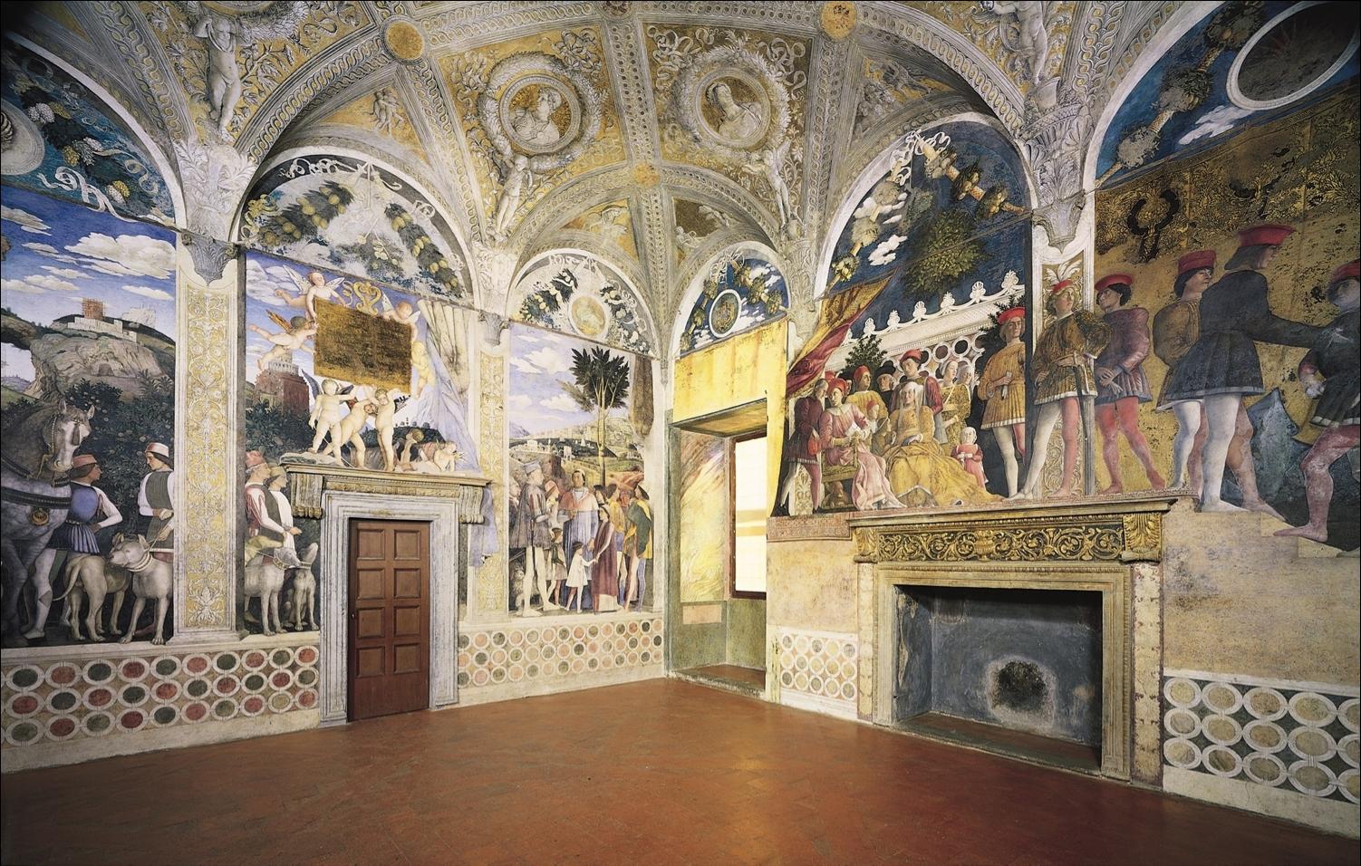 Andrea mantegna la camera degli sposi 1465 1474 art for Mantova palazzo ducale camera degli sposi