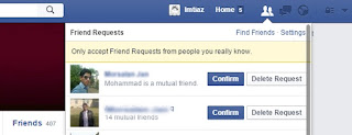 Accept all friend request in one click