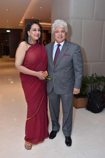 Naina Balsavar Ahmad with Suhel Seth