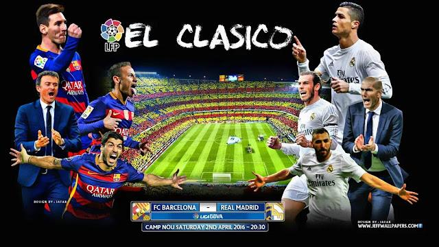 Barcelona x Real Madrid (02/03/2016) - Horário, Data e TV - Campeonato Espanhol