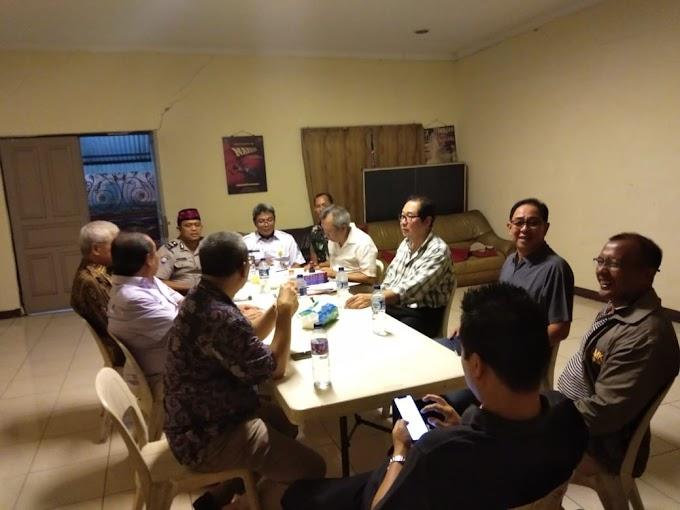 Binmas Srengseng Bersama Tiga Pilar  Hadiri Giat Pengukuhan Ketua Rt Di Rw 09 Intercon Kebon Jeruk