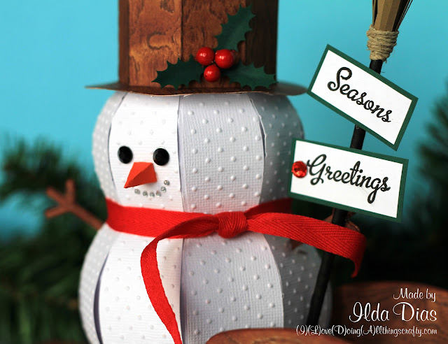 3D Snowmen Treat Boxes and Sleigh Ride | SVGCuts