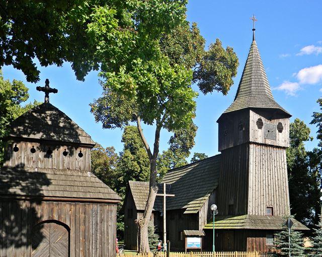 szlak drewnianych kościołów, lubuskie, zabytek, Babimost
