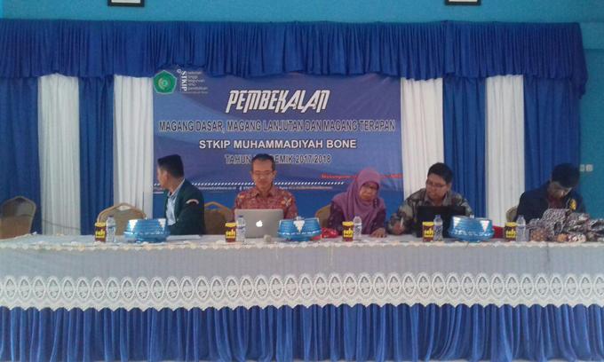 PDM Sleman Jogyakarta Berikan Pembekalan Kepada Mahasiswa STKIP Muhammadiyah Bone