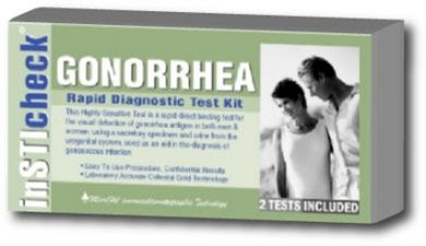 Oral Aids Test: Gonorrhea Prevention (2)