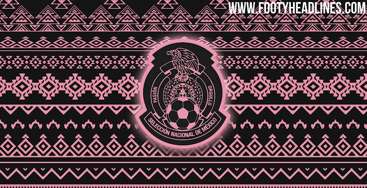 Mexico Jersey 2020 World Cup.Leaked Adidas Mexico 2020 Home Kit To Feature Grecas Print