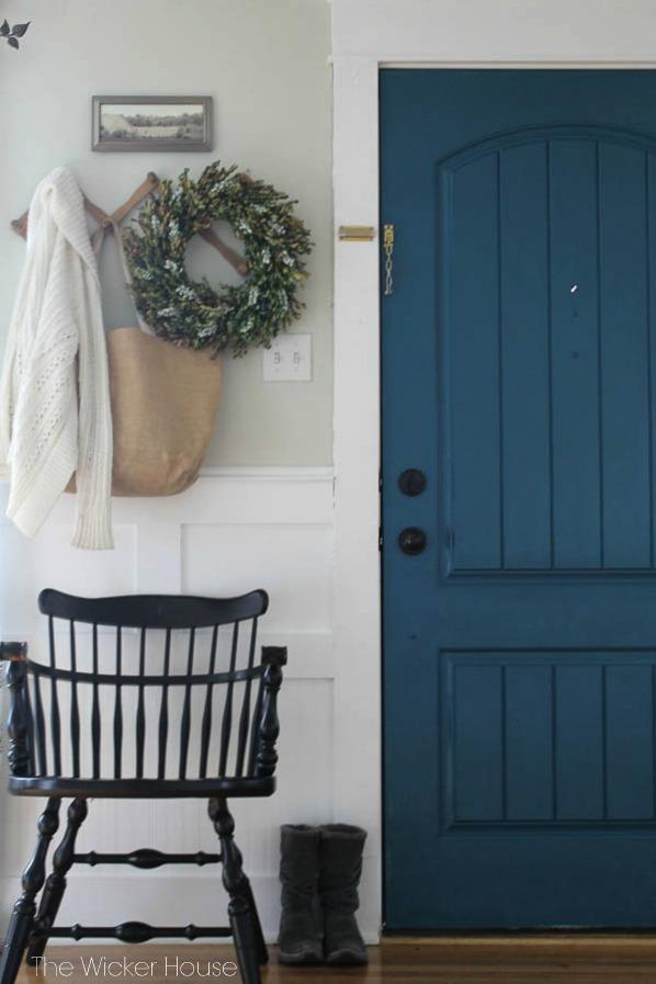 Painted Interior Door  Favorite Paint Colors Blog