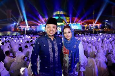 Gubernur Ridho Doakan Kesuksesan Kafilah Lampung Pada MTQ ke-72 di Medan