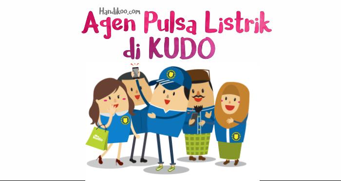KUDO, agen pulsa listrik, operator dan bahkan membangun toko online. Dagang pulsa online di KUDO