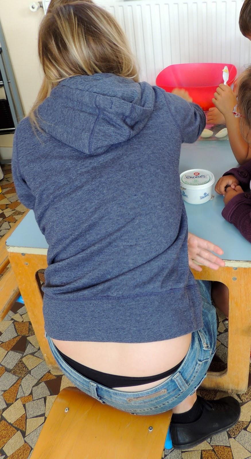 Thong Voyeur Tea Party At Work