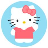 Oblea para tartasHello Kitty