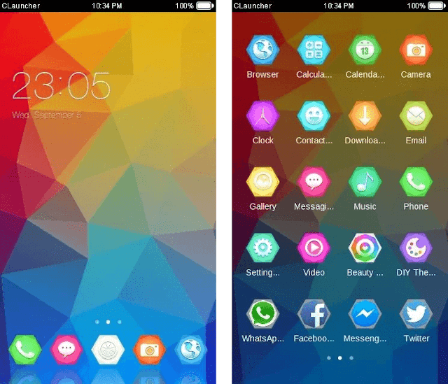 theme for C launcher