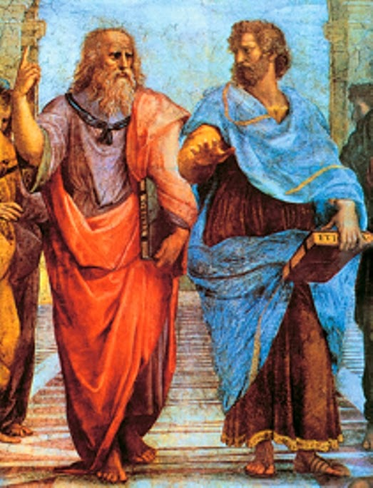 Best Italian frescoes: The Shool of Athen by Raphael
