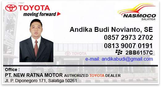 Toyota Salatiga Jawa Tengah