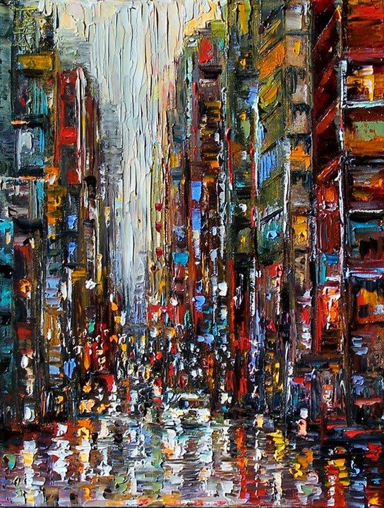 Debra Hurd Original Paintings AND Jazz Art: New York City ...