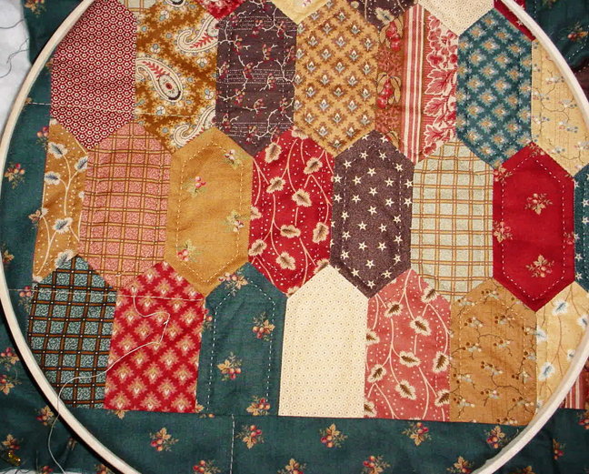 Cloud Of Quilt Patterns Tessellations Hexagons 5 Long Hexagons