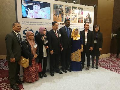 Delegasi Malaysia ke Pembentangan Antarabangsa di SSAEM 2016, Korea