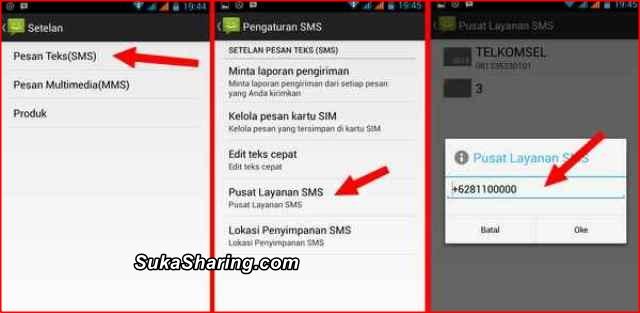 Tips mengatasi Pesan SMS Tidak Terkirim